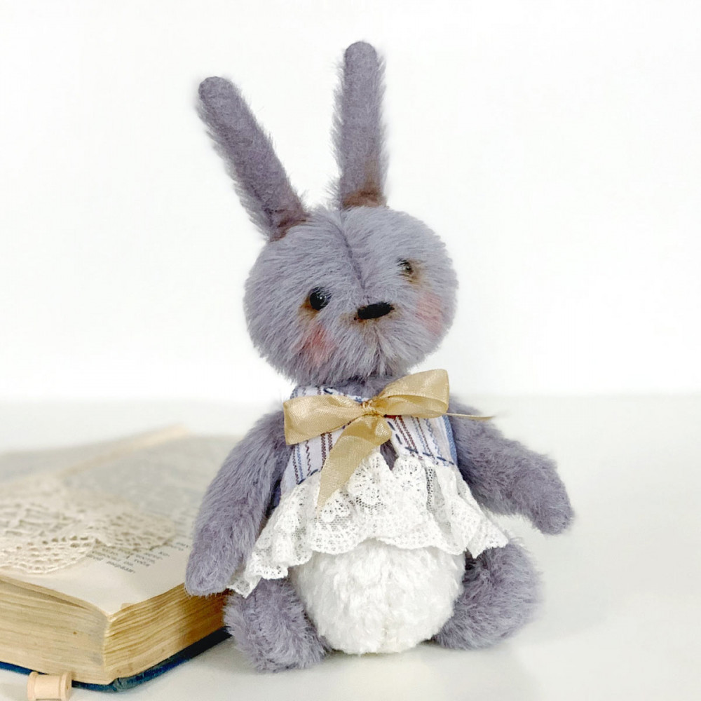 Designer Teddy Bunny rag toy